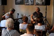 26.6. 2019 Sir Oliver Mally & Peter Schneider - Folk & Blues Adventures v Blues Cafe